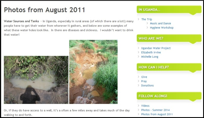 Blog Aug 2011 Page photo